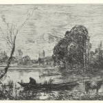 A drawing of Streatham Common by Van Gogh