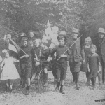 Belgian refugees on Streatham_common 23rd September 1914