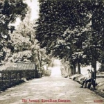 The Avenue, now Streatham Common South in 1907