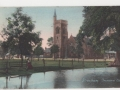 Streatham Common with view of Immanuel Church - early 1900s