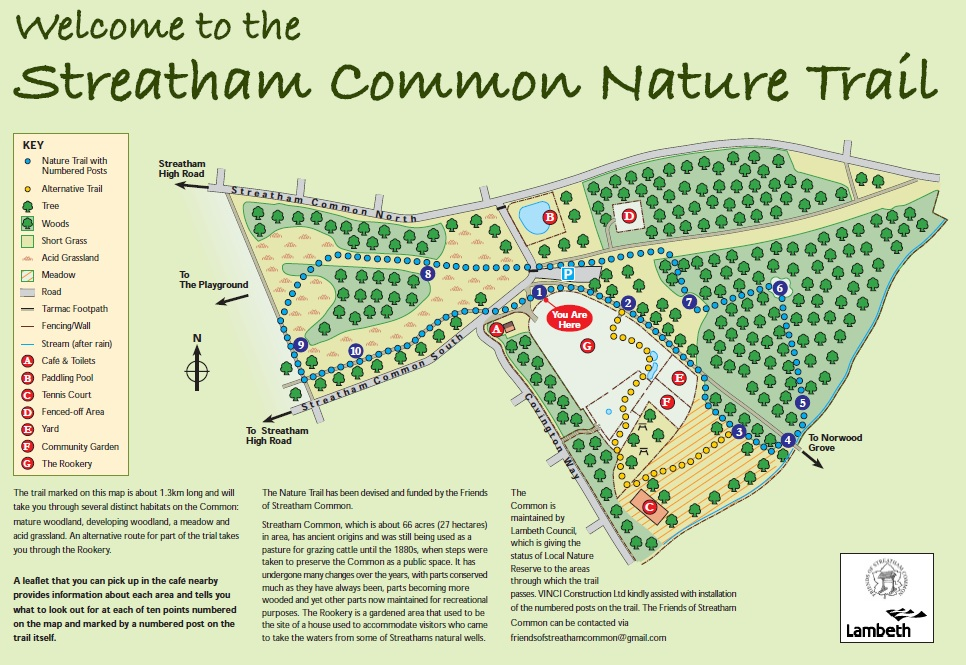 Streatham Common Nature Trail