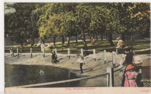 streatham common pond 1907