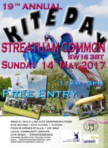 Kite day Sunday 14 May 2017 Streatham Common