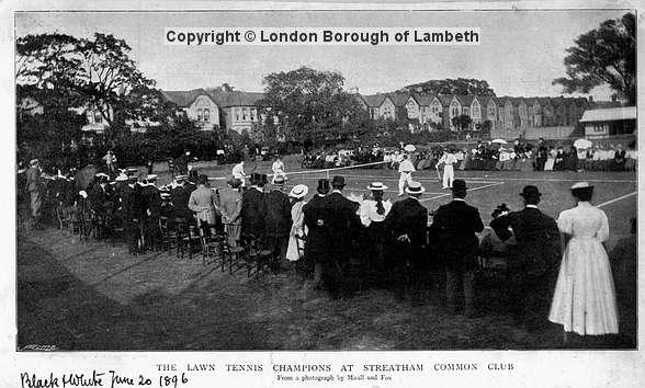 Streatham Common Lawn Tennis Championships 30 June 1896