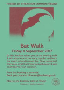 Bat Walk 08 September 2017 19:45