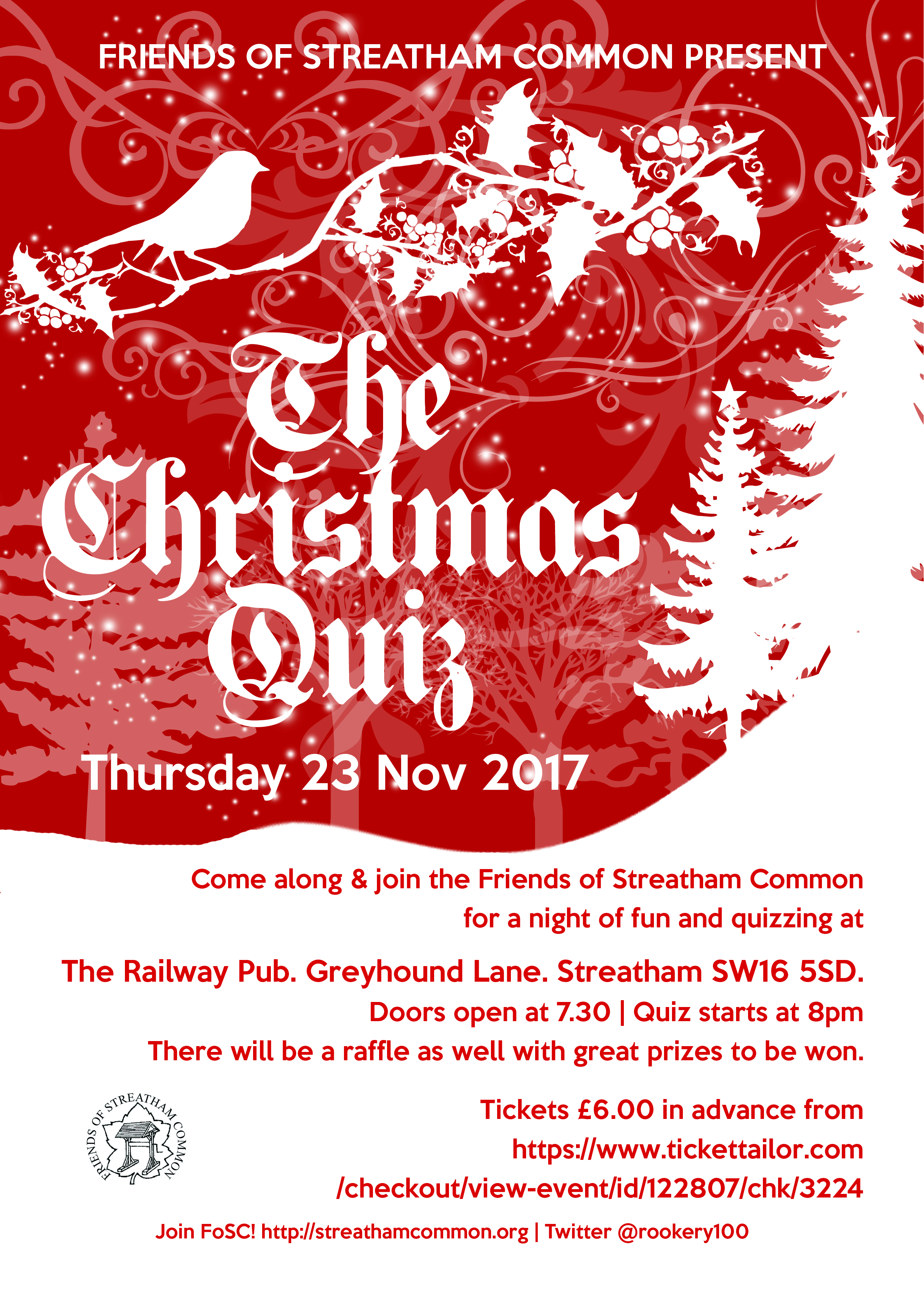 The FoSC Christmas Quiz: 23 November 2017