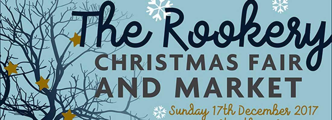 The Rookery Christmas Fair Sunday 17th December
