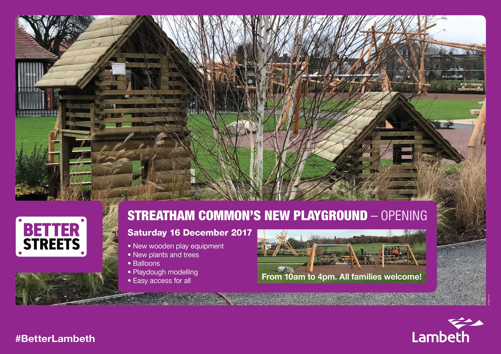 details of playground launch 16/12/17