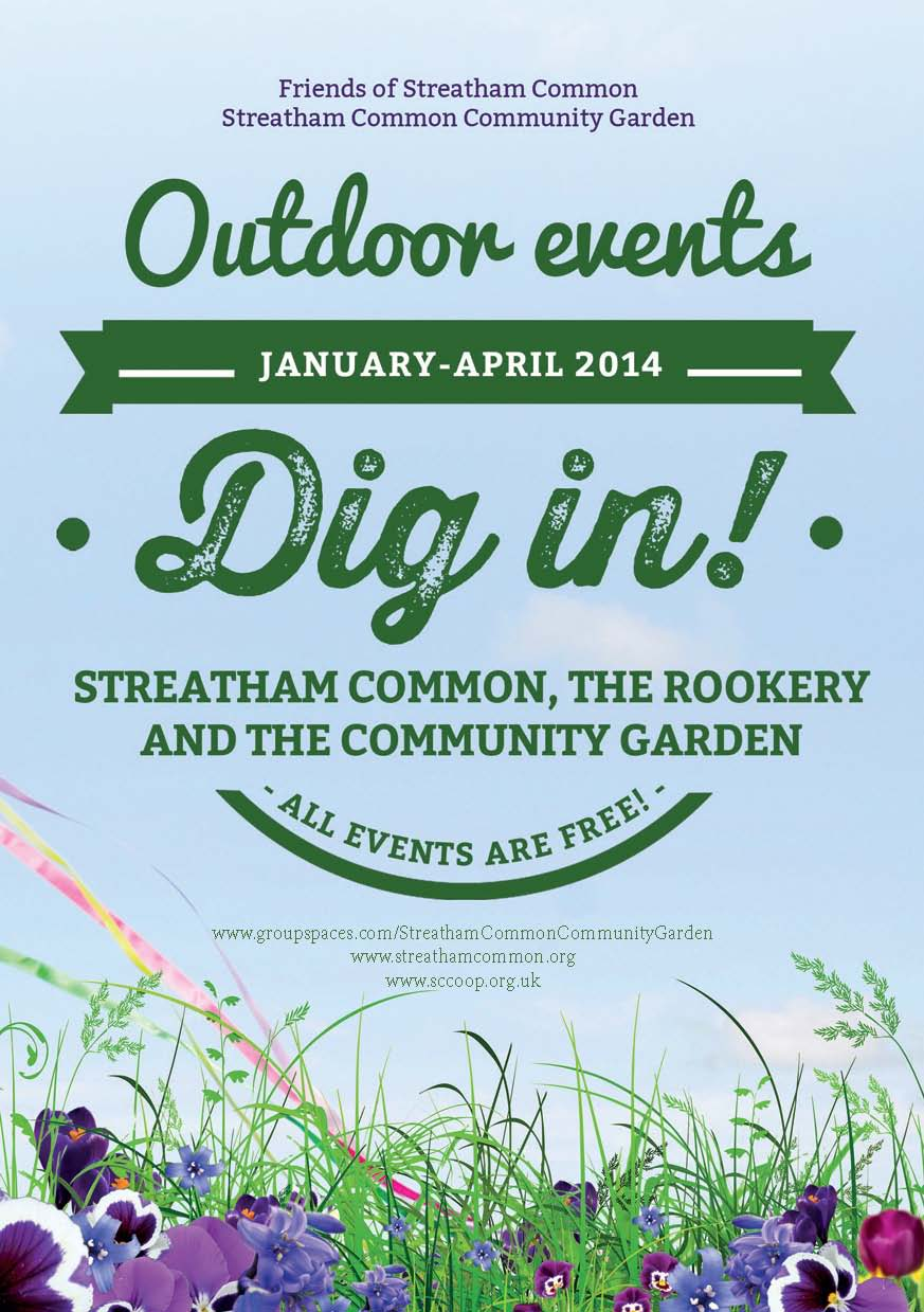 Dig In! Outdoor events coming up soon!