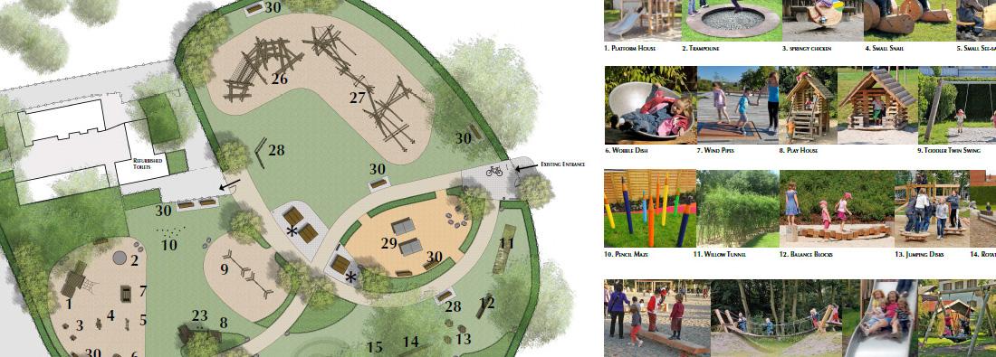 Streatham Common Playground Update