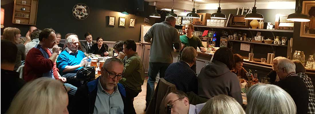 The Christmas Pub Quiz 2017 – A great result!