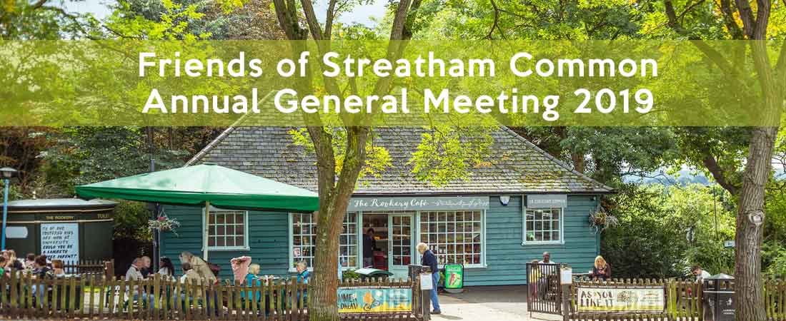 AGM: Wednesday 5th June 2019 @ 7.30pm